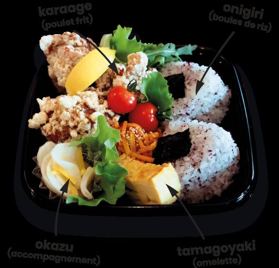 YUYU BENTO - NICE - Le Bento Traditionnel